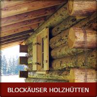Blockäuser Holzhütten